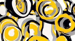 Colour hoop yellow inzerto 59,3x32,7