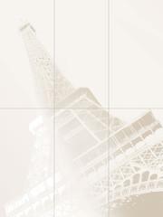 Tour Eiffel inzerto 6prvků 89,8x119,8