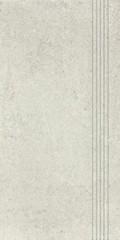 DCPSE662 Cemento šedo-béžová schodovka 29,8x59,8x1