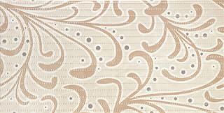Gobi beige inzerto ornament 30,8x60,8