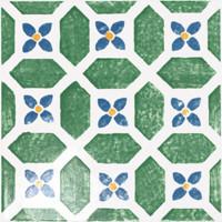 Majolika zelená inzerto avignon 14 20x20