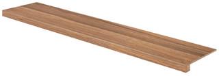 DCFVF143 Board hnědá schodová tvarovka 29,8x119,8x1