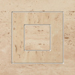 Travertine roh 1P 14,8x14,8