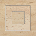 Travertine roh 11P 14,8x14,8
