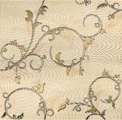 Traviata inzerto ornament 2prvky 61,8x60,8