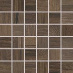DDM06144 Board tmavě hnědá mozaika 30x30 cm 4,7x4,7x1