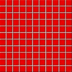 Colour red mozaika 30x30