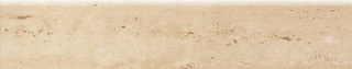 Travertine sokl 1 lesk 59,8x11,7