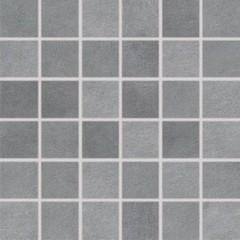 DDM06724 Extra tmavě šedá mozaika set 30x30 4,8x4,8x1