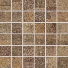 DDM05709 Era hnědá mozaika 4,8x4,8x0,8 30x30