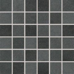DDM06725 Extra černá mozaika set 30x30 4,8x4,8x1
