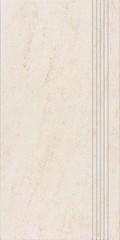 DCPSE628 Pietra světle béžová schodovka 29,8x59,8x1
