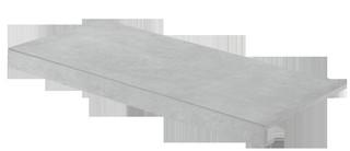 DCF84723 Extra světle šedá schodová tvarovka 39,8x79,8x1