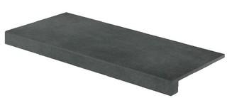 DCF84725 Extra černá schodová tvarovka 39,8x79,8x1