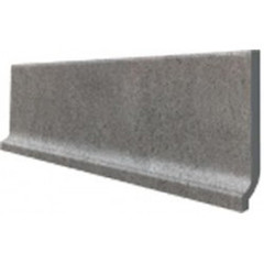 DSPJB611 Unistone šedá sokl s požlábkem 29,8x8,5x0,85