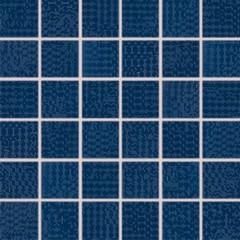 WDM05092 Trinity tmavě modrá mozaika 4,8x4,8x0,7 30x30
