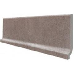 DSPJB612 Unistone šedo-hnědá sokl s požlábkem 29,8x8,5x0,85