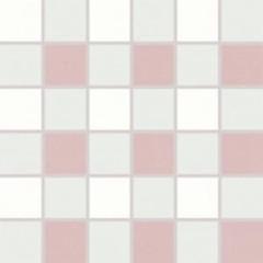 WDM06155 Tendence bílo-fialová mozaika 30x30 4,7x4,7x1