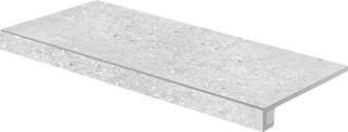 DCESE666 Stones sv. šedá schodová tvarovka 29,8x59,8x1