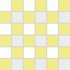 WDM06157 Tendence bílo-zelená mozaika 30x30 4,7x4,7x1