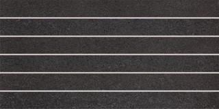 DDPSE613 Unistone černá dekor 29,8x59,8x1,0