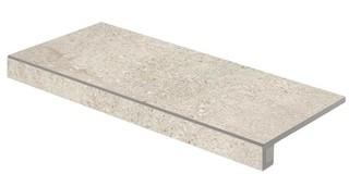 DCFSE669 Stones hnědá schodová tvarovka 29,8x59,8x1