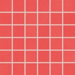 WDM06053 Tendence červená mozaika 30x30 cm 4,7x4,7x1