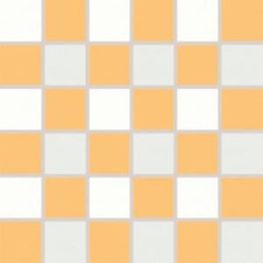 WDM06156 Tendence bílo-oranžová mozaika 30x30 4,7x4,7x1