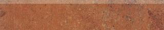 DSAPM665 Siena červeno-hnědá sokl 44,5x8,5x1