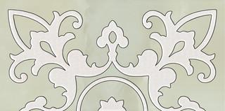 Sabro verde inserto murano 29,5x59,5