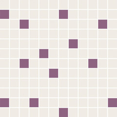 Luciola ecru/viola mozaika mix 2,3x2,3 29,8x29,8