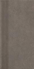 Rino nero stopnica prosta nacinana mat 29,8x59,8