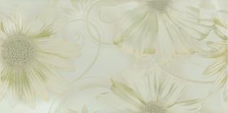 Sabro verde kwiat inserto 29,5x59,5