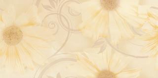 Sabro beige kwiat inserto 29,5x59,5