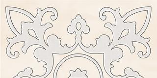 Sabro bianco inserto murano 29,5x59,5
