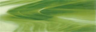 Inserto szklane murano verde A 25x75