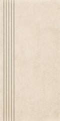 Rino beige stopnica prosta nacinana mat 29,8x59,8