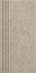 Rino grys stopnica prosta nacinana mat 29,8x59,8