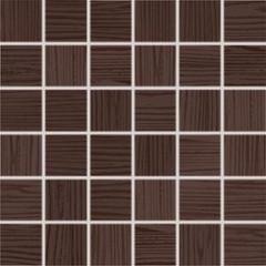 WDM05025 Wenge hnědá mozaika 4,7x4,7 30x30x0,8