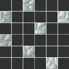 Esten silver/grafit mozaika K44 29,8x29,8