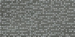 Normandie graphite inserto dots 29,7x59,8
