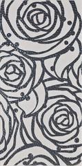 Modena grey inserto rose 29,7x60