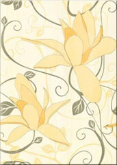 Artiga yellow inserto flower 25x35