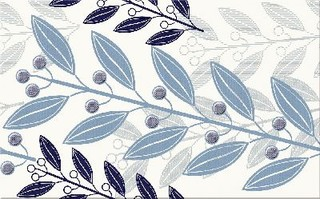 Lunia white inserto leaves 25x40
