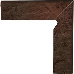 Semir brown pravý sokl 2ks 30x8