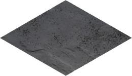 Semir grafit romb 14,6x25,2