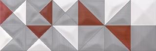 Delicate lines multicolour inserto geo 25x75
