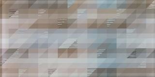 Dekor szklany Kalma modern 22,3x44,8