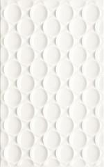 Martynika bianco sciana struktura 25x40