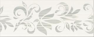 Organza grey inserto flower 20x50